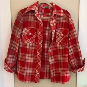 Really cute vintage plaid shirt